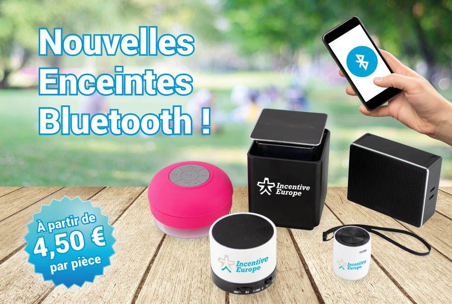 Nouvelles Enceintes Bluetooth