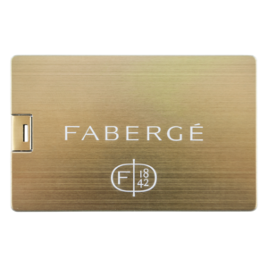 Carte de Credit Gold - Clé USB